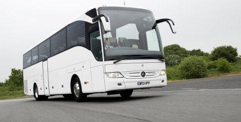 Mercedes Tourismo (белый)